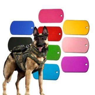 vojaski graviran obesek za psa2