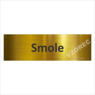 Gravirana vratna tablica GT1 zlata