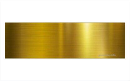 Gravirana vratna tablica GT1 zlate barve