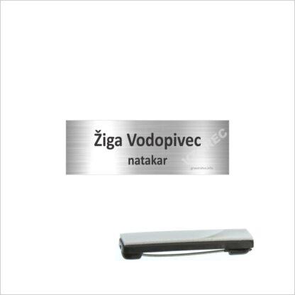 Priponke za imena z iglo GT6 srebrna.jpg