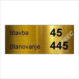 Tablica za stanovanje